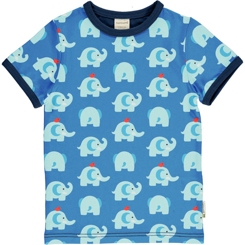 Elephant Friends Short Sleeve Top