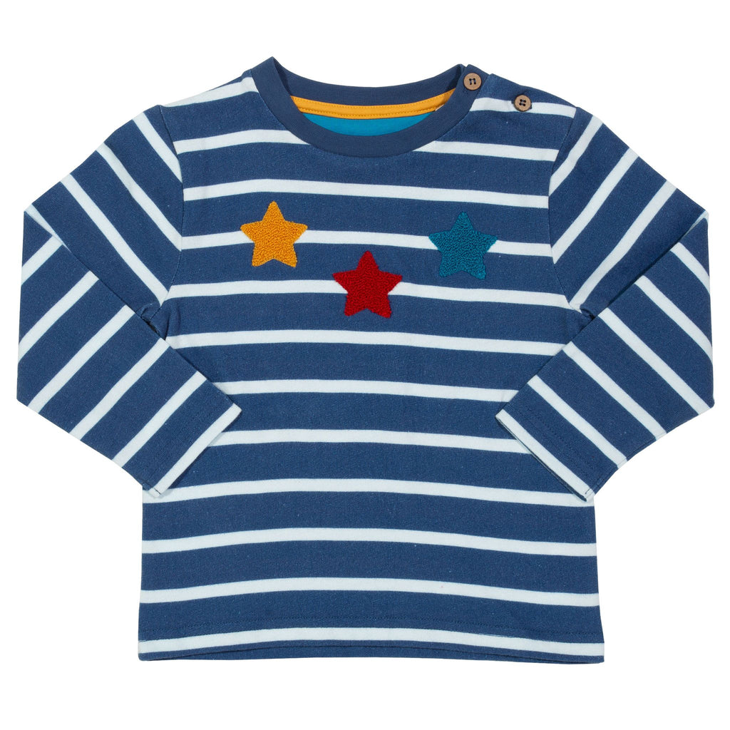 Last ones Star stripe top (GOTS)