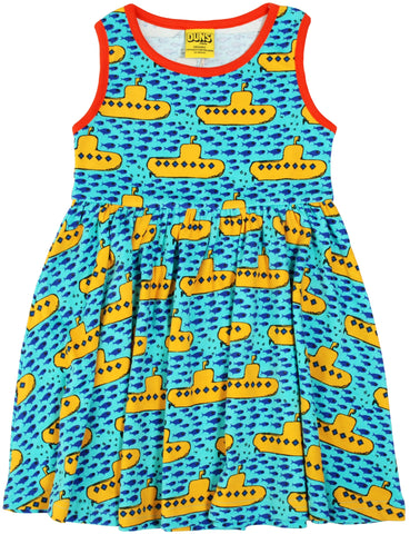 Adult Submarine Sleeveless Dress w gather skirt