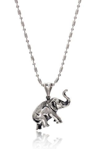 Buy Men Chain and Pendant, Named Stainless Steel Men's Military Link Chain with  a unique Stainless Steel Shining Elephant Pendant, from Svvelte, for Rs. 34.99