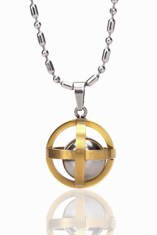 Buy Men Chain and Pendant, Named Svvelte Ball in a cage, from Svvelte, for Rs. 28.99