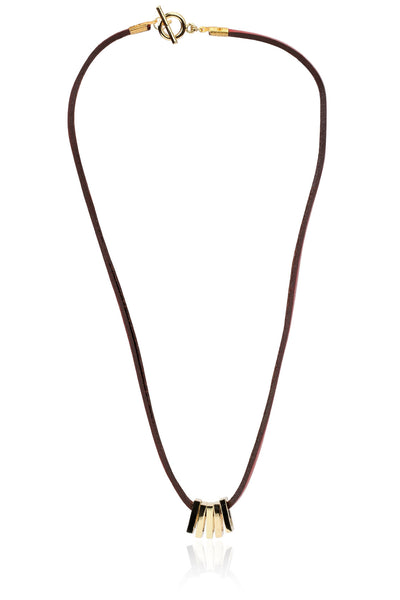 Buy Unisex Chain and Pendant, Named Svvelte Unisex Pure Leather Chain with Pendant, from Svvelte, for Rs. 24.99