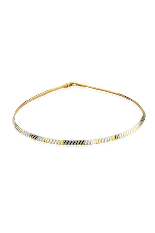 Buy Women Chain, Named Svvelte Gold & Silver Toned Necklace, from Svvelte, for Rs. 23.99