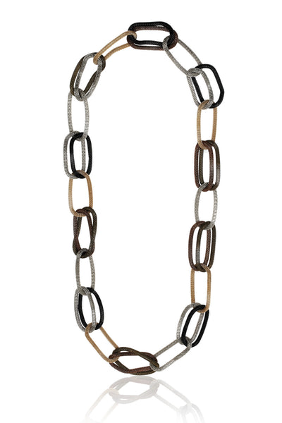 Buy Women Chain, Named Svvelte Gold & Silver Necklace, from Svvelte, for Rs. 29.99