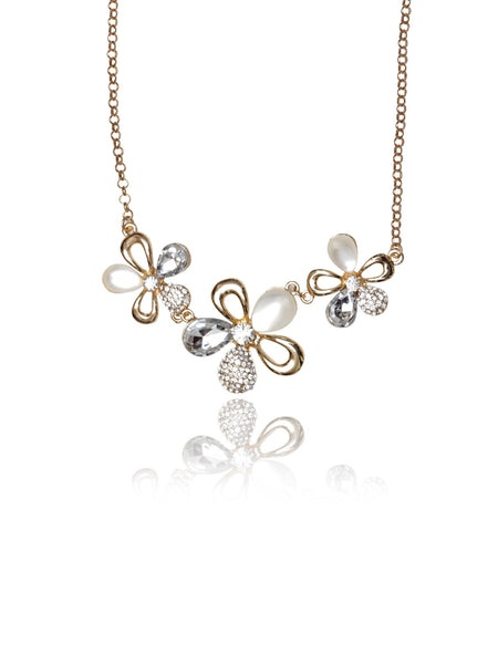 Buy Women Chain, Named Svvelte Gold Toned floral chain, from Svvelte, for Rs. 22.99