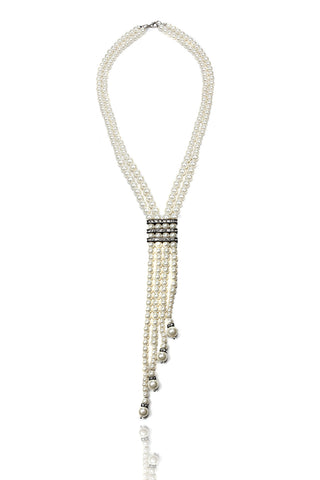 Buy Women Chain, Named Svvelte White pearl Chain, from Svvelte, for Rs. 32.99