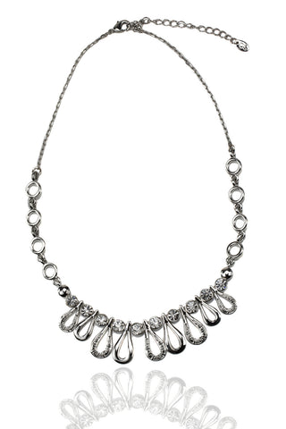 Svvelte Silver Toned Necklace, Women Chain, Svvelte - Svvelte