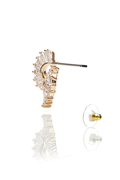 Buy Women Earring, Named Svvelte Gold toned earings with Swarovksi elements, from Svvelte, for Rs. 29.49