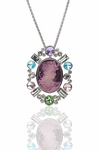 Svvelte Lady faced pendant, Women Chain and Pendant, Svvelte - Svvelte