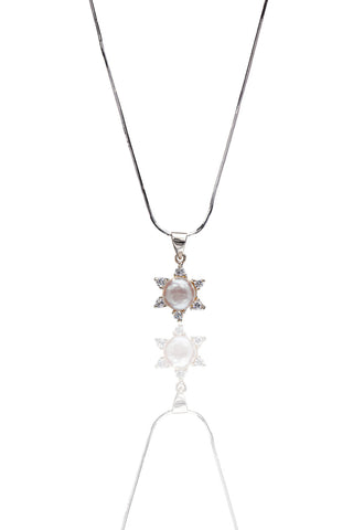 Buy Women Chain and Pendant, Named Svvelte Silver Pendant With Chain, from Svvelte, for Rs. 84.49