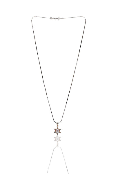 Svvelte Silver Pendant With Chain, Women Chain and Pendant, Svvelte - Svvelte