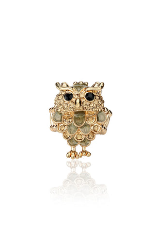 Svvelte Women - Owl Ring, Women Ring, Svvelte - Svvelte