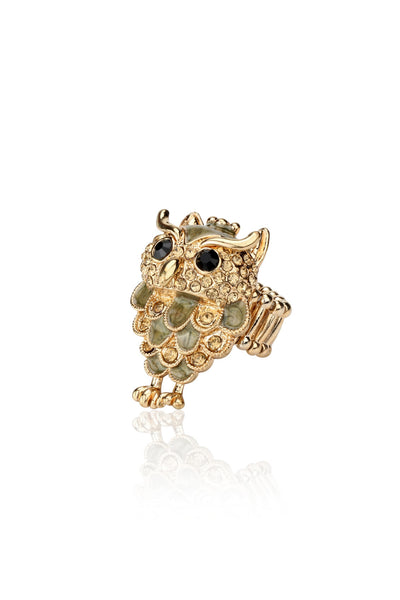 Buy Women Ring, Named Svvelte Women - Owl Ring, from Svvelte, for Rs. 19.99