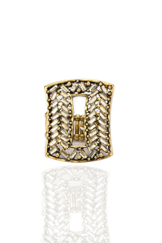 Svvelte Women - Rectangular Ring, Women Ring, Svvelte - Svvelte