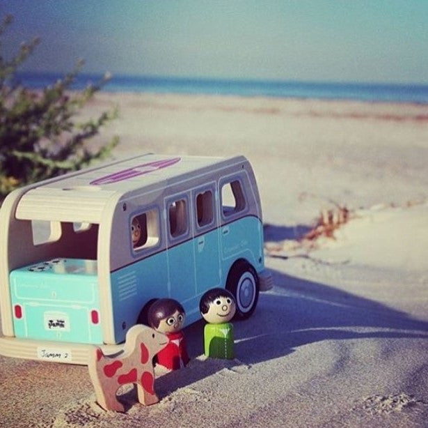Colin's Camper Van is ready for the summer holidays!