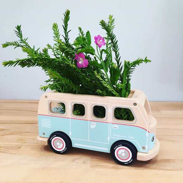 Colin's Camper Van Flower Pot