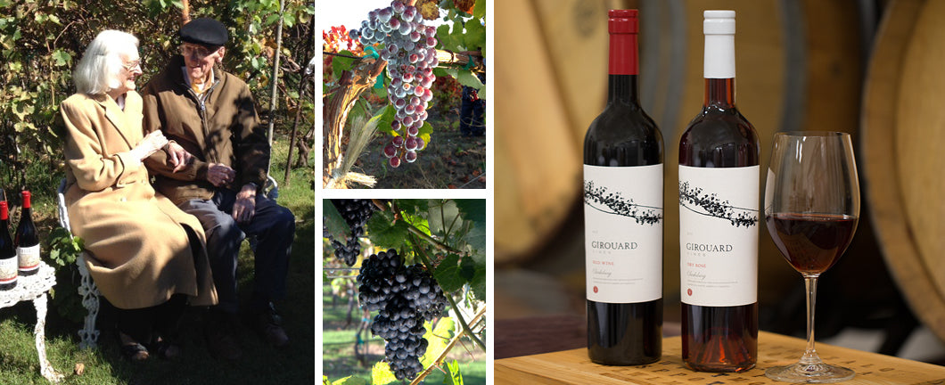 Girouard Vines Family Winery Story