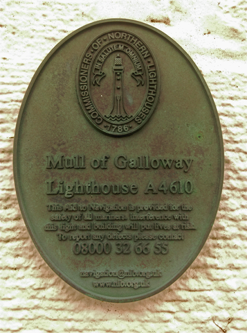 Mull of Galloway Lighthouse, Drummore, Dumfries and Galloway, Scotland