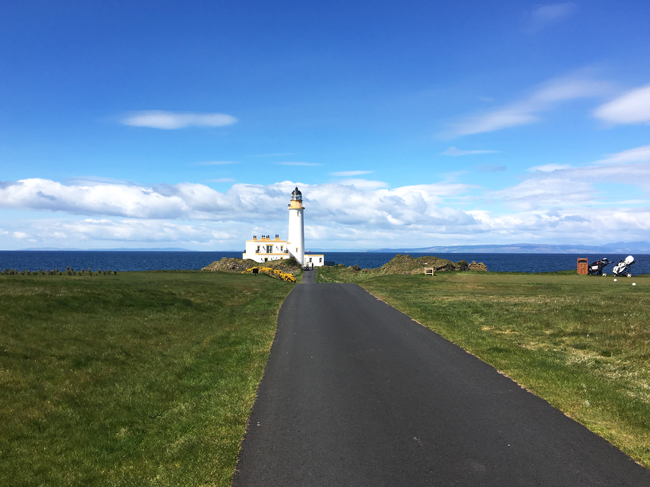 Turnberry Lighthouse and Golf course, Ayrshire, Scotland