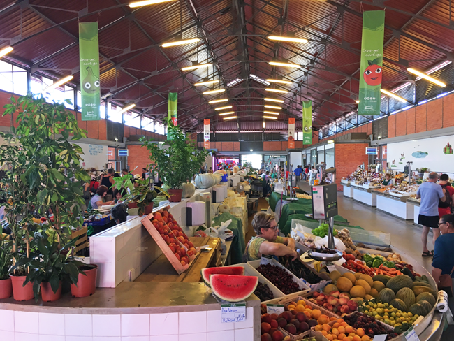 Fruit and Vegetable market, Olhao, Algarve District, Portugal