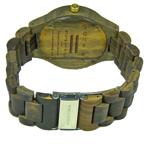 Egyptian Blue Laro sandal Wood watch buckle