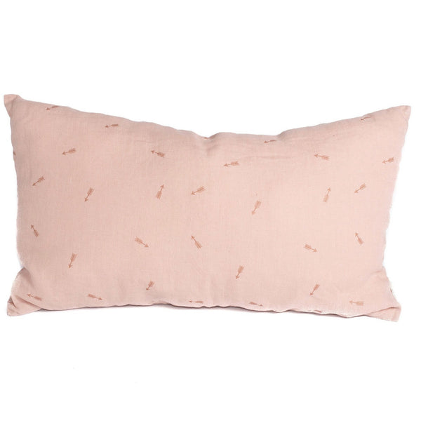 Minimuhuu • Linen Cushion, Sunset pink • m_op.cushionarrow