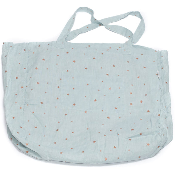 minimuhuu • Tote bag, stars blue light • m_op.bag