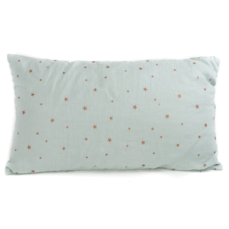 Printed stars cushion