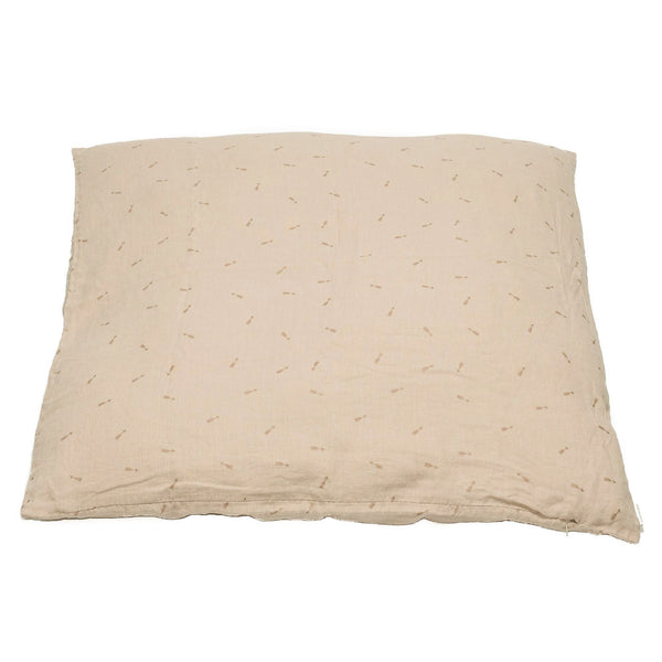 Minimuhuu • Large floor cushion cover, blush beige. • m_op.xlcushionarrow