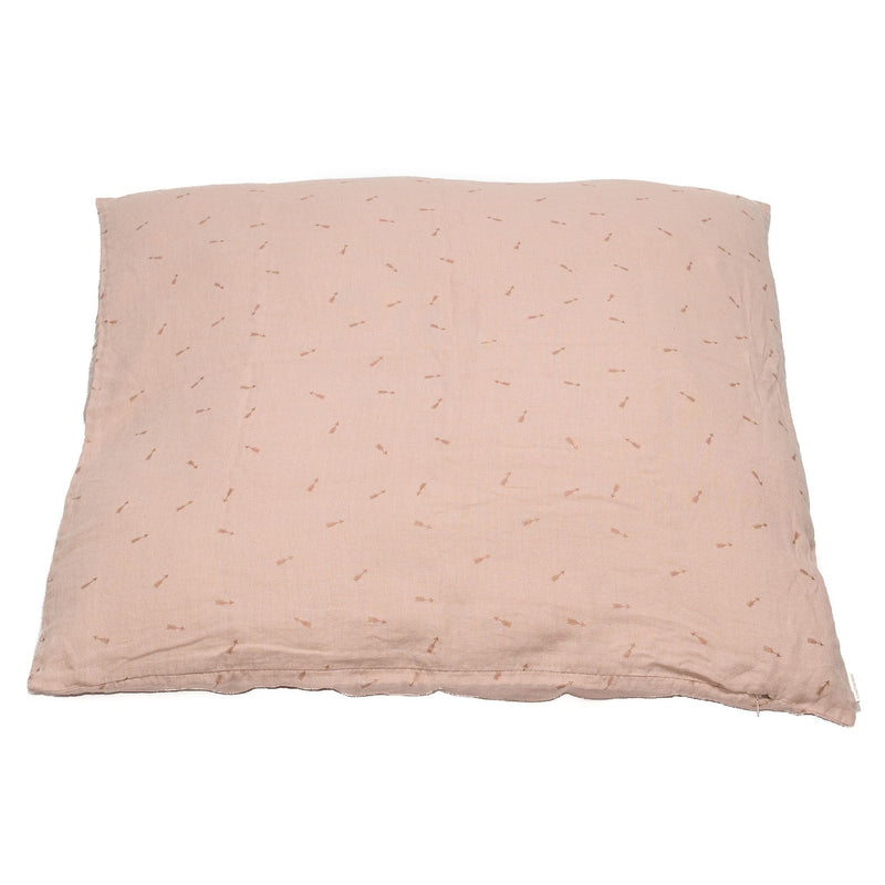 Large cushion cover, sunset pink