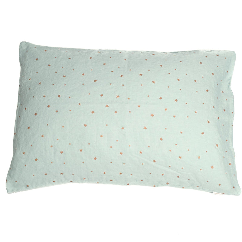 Pillow case, stars blue light