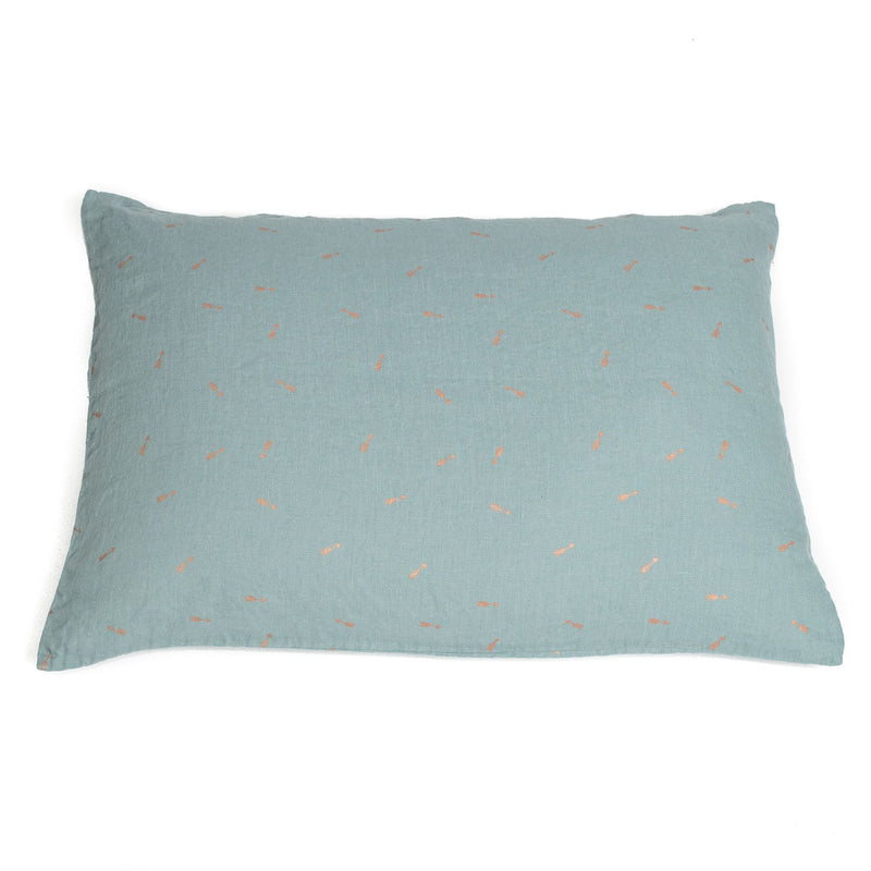Pillow case, blue lagoon