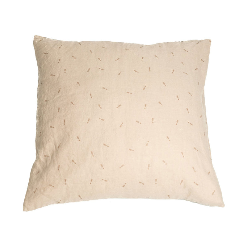 Pillow case, blush beige