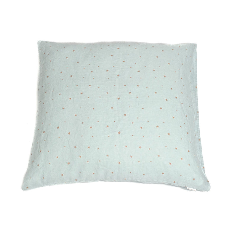 Large cushion cover, blue light