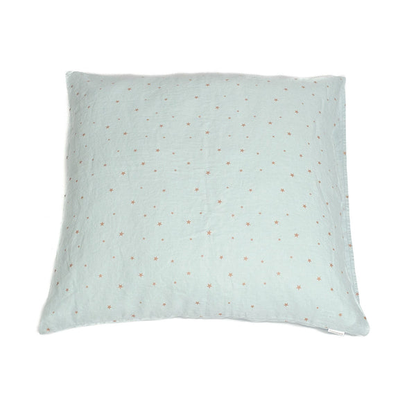Minimuhuu • Large cushion cover, blue light • frontpage, m_op.xlcushionstar