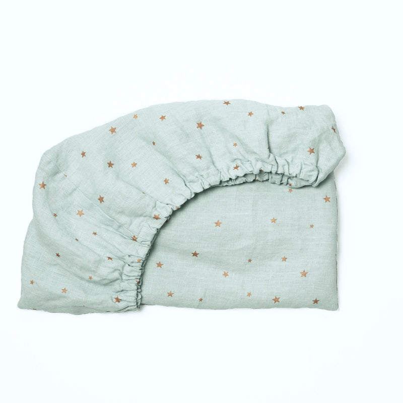 Baby Sheet, stars blue light