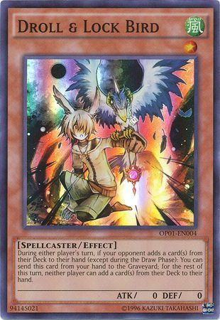 Droll & Lock Bird - OP01-EN004 - Super Rare - Unlimited Edition
