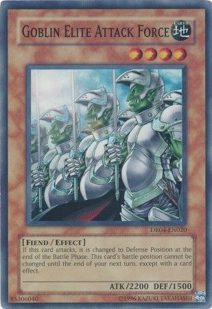 Goblin Elite Attack Force - DR04-EN020 - Super Rare - Unlimited Edition