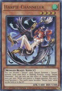 Harpie Channeler - LART-EN022 - Ultra Rare - Limited Edition