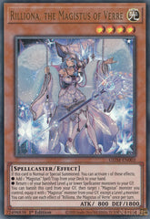 Rilliona, the Magistus of Verre - GEIM-EN003 - Ultra Rare - 1st Edition