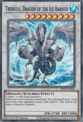 Trishula, Dragon of the Ice Barrier - SDFC-EN045 - Super Rare - 1st Edition