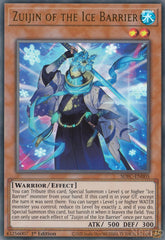 Zuijin of the Ice Barrier - SDFC-EN005 - Ultra Rare - 1st Edition