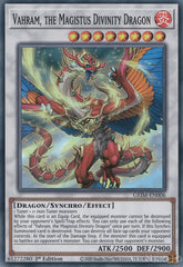 Vahram, the Magistus Divinity Dragon - GEIM-EN006 - Super Rare - 1st Edition