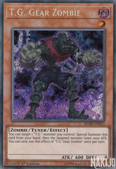 T.G. Gear Zombie - BLHR-EN023 - Secret Rare - 1st Edition