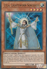 Lyla, Lightsworn Sorceress - BLLR-EN036 - Ultra Rare - 1st Edition