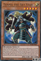 Tenma the Sky Star - BLRR-EN037 - Ultra Rare - 1st Edition