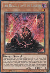 The Black Stone of Legend - CORE-EN021 - Secret Rare - 1st Edition