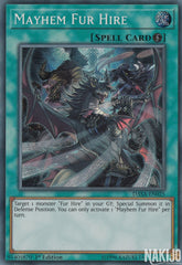 Mayhem Fur Hire - DASA-EN025 - Secret Rare - 1st Edition