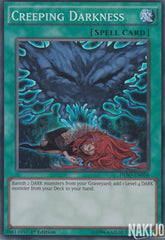 Creeping Darkness - DESO-EN058 - Super Rare - 1st Edition