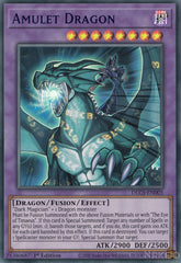 Amulet Dragon - DLCS-EN005 - Blue Ultra Rare - 1st Edition
